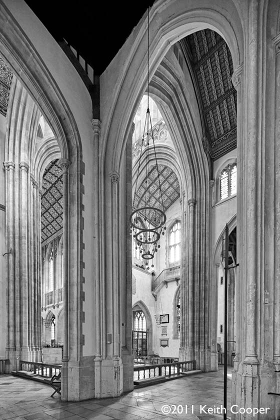 interior - Bury St Edmunds cathedral