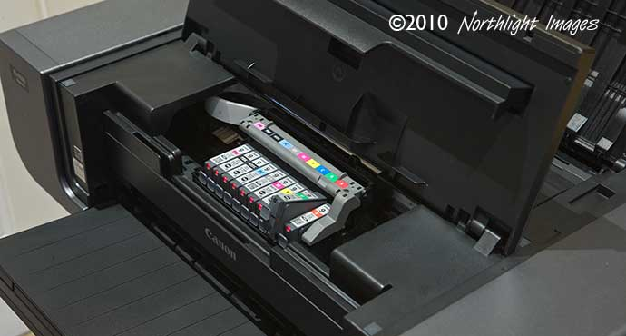 replacing ink cartridge in Pro9500 mk2