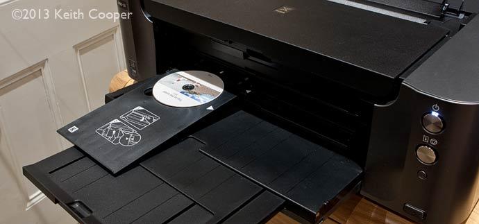 printed CD