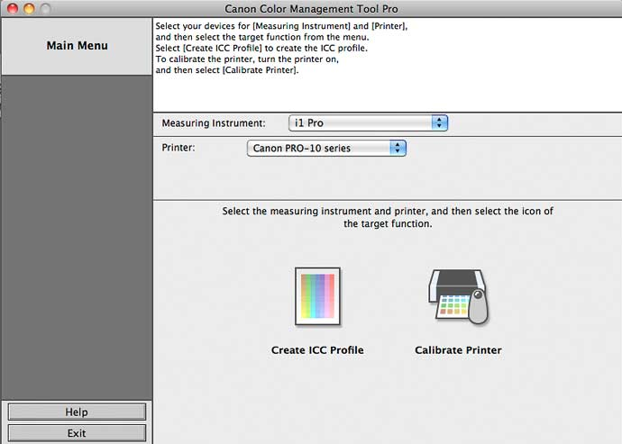 canon color management tool pro