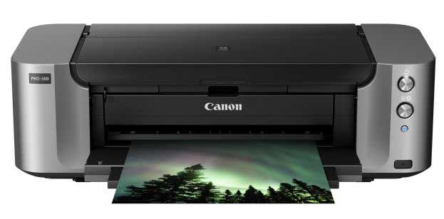 Canon pro-100 printer front view