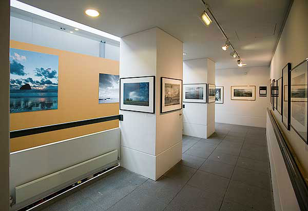 Fine art landscape prints at exhibition