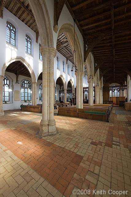 Interior Blythburgh church
