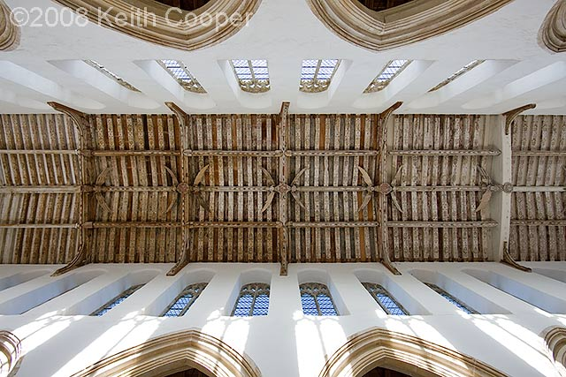 ceiling, blythburgh church, suffolk