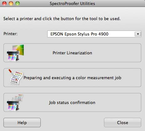 spectroproofer utility software