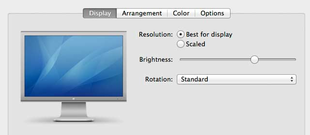 screen brightness adjustment