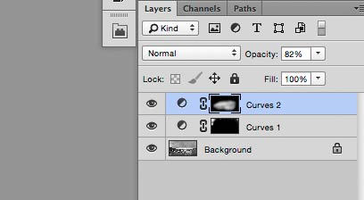 two final curve adjustment layers
