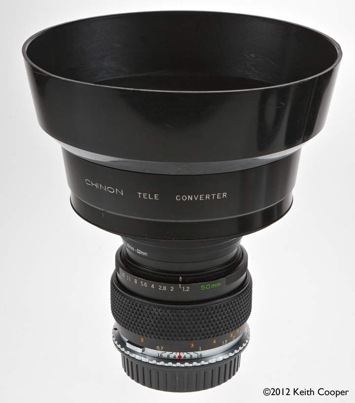 complete lens assembly with lens hood