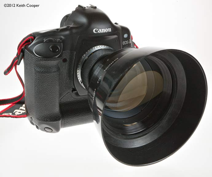 50mm plus converter on canon 1Ds