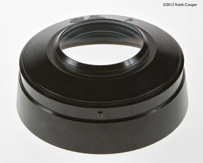 fitting step rings to back of lens unit
