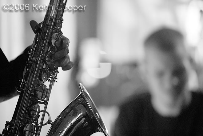 Sax - jazz photography black and white print