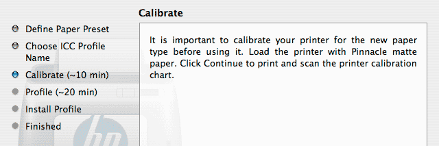 printer calibration