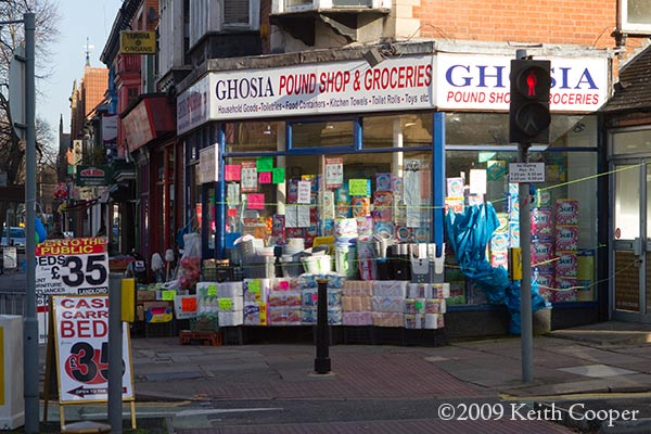 Narborough Road - pound shop