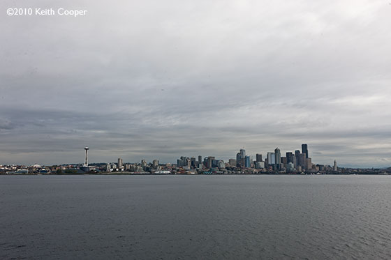 ferry view of seattle