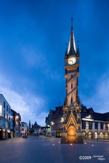 Leicester clock tower, leicester, UK