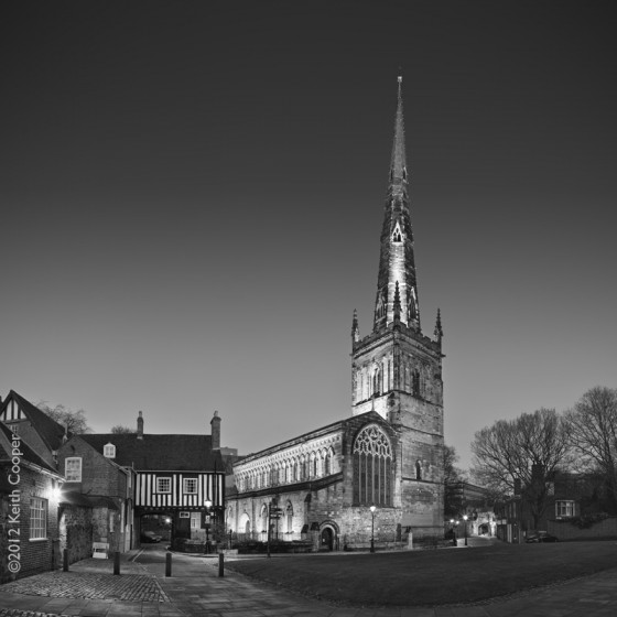 St. Mary de Castro church, Leicester