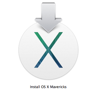 OSX 10.9 Mavericks disk image