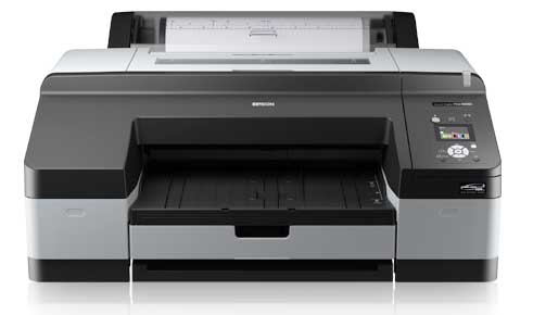 front view of epson 4900 printer