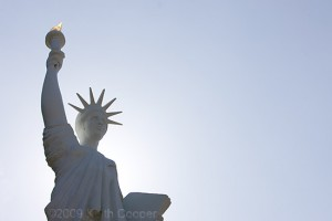 July 4th, Liberty welcomes visitors