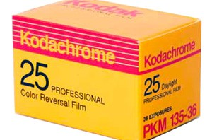 kodachrome film box