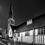 The Guildhall and Cathedral, Leicester