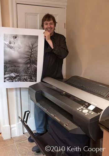 Is your printer OK for black and white photography?