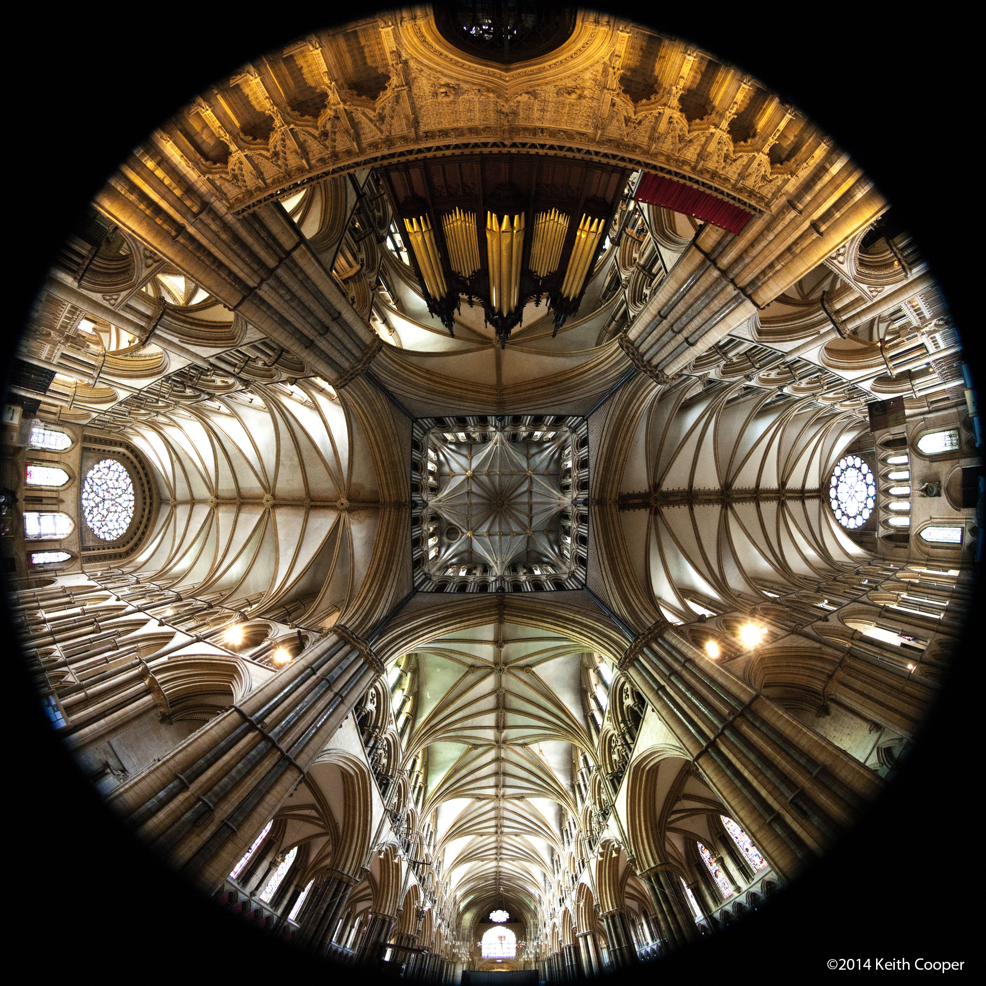 Lincoln Cathedral - under tower