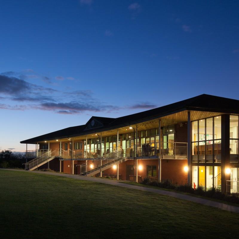 Cricket club building