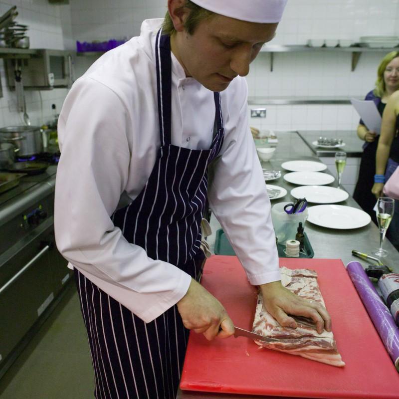 Kitchen preparation work