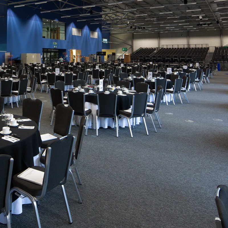 Conference setup and preparation