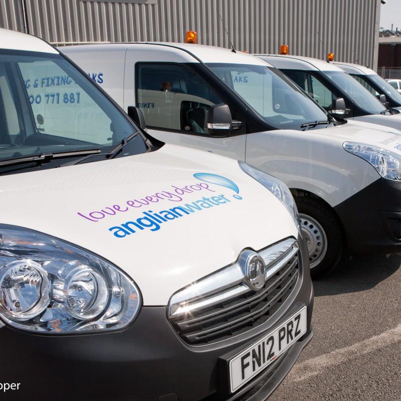 Corporate fleet branding