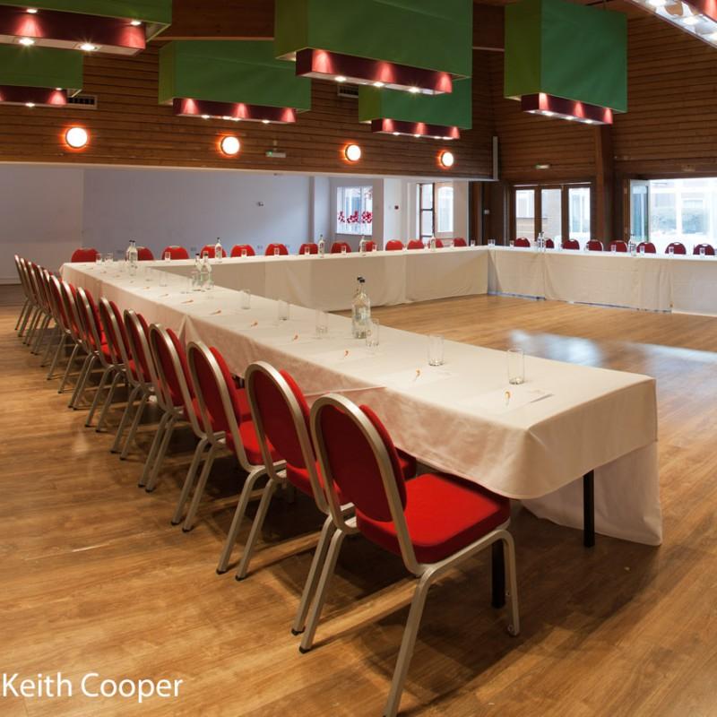 Conference facilities - seminar setup