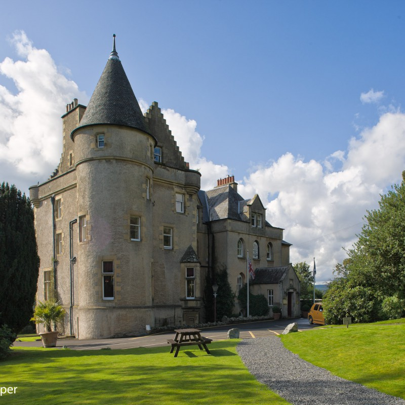Scottish castle hotel