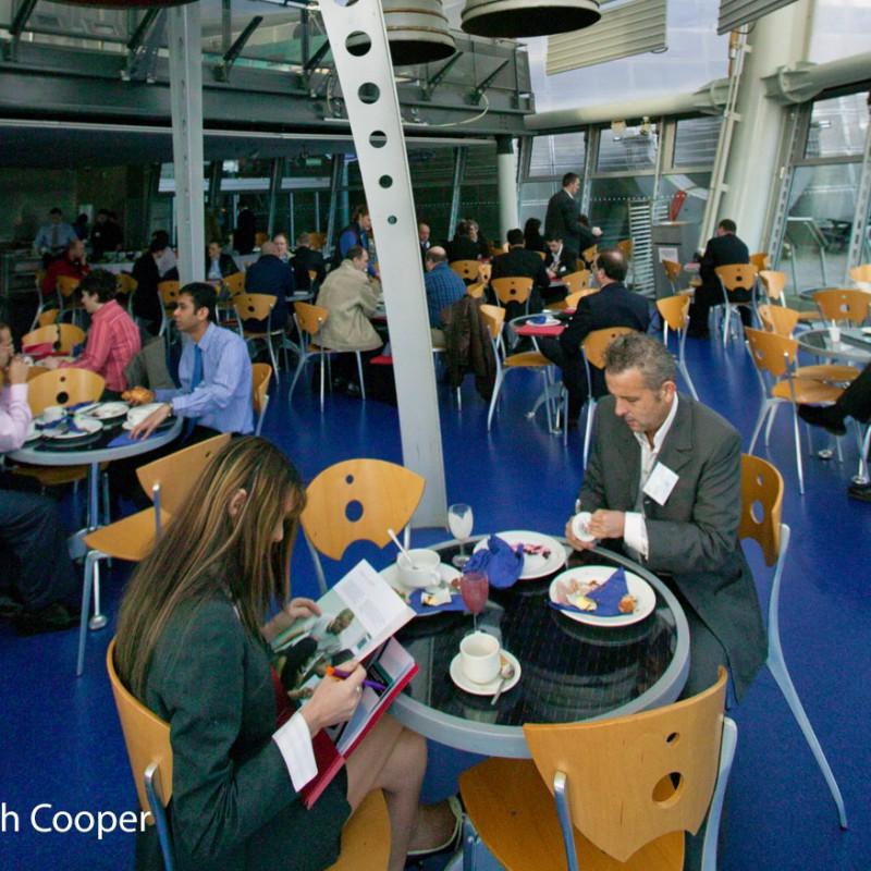 Breakfast networking event