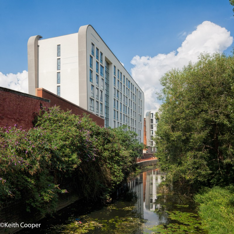 Student housing, canal
