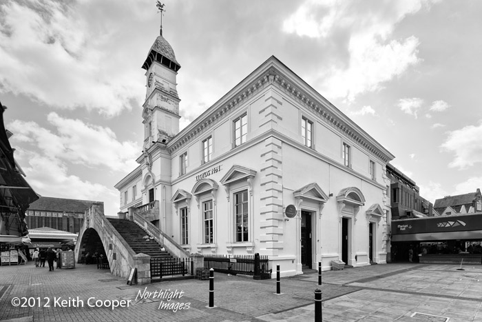 corn exchange at Leicester market