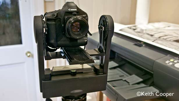 using a gigapan