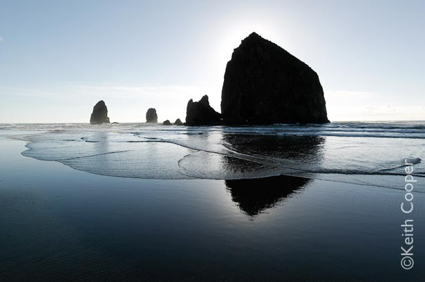 Haystack rock - Cannon Beach, Orego