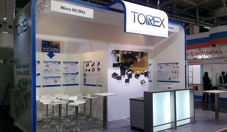 torex exhibition stand