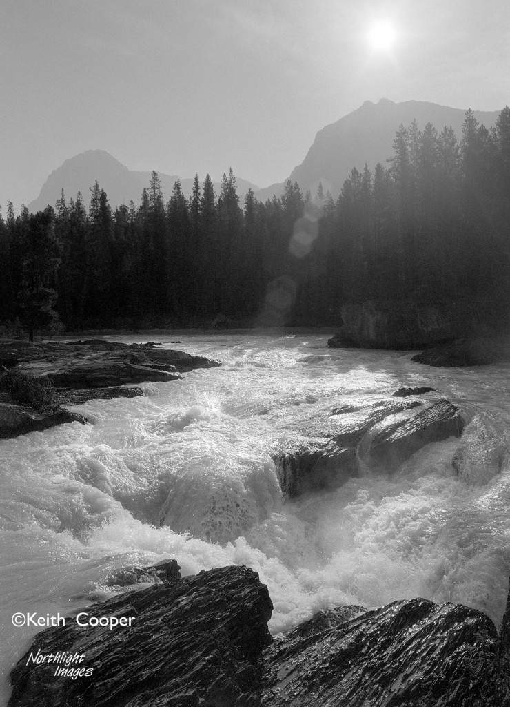 Rapids - canadian rockies
