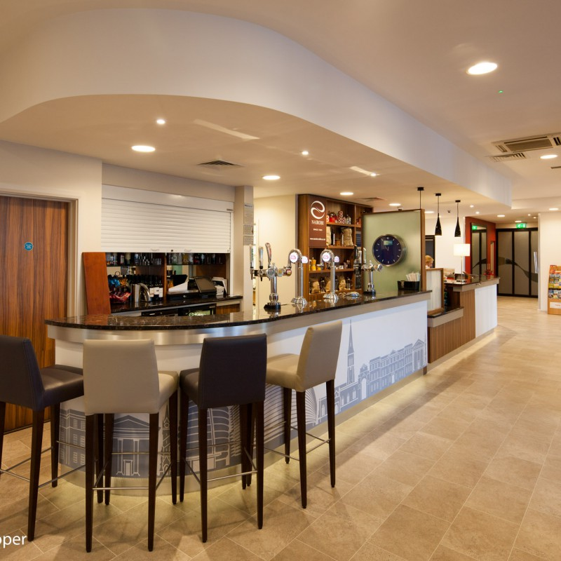 Hotel bar and coffee shop