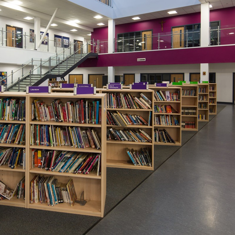 School library area