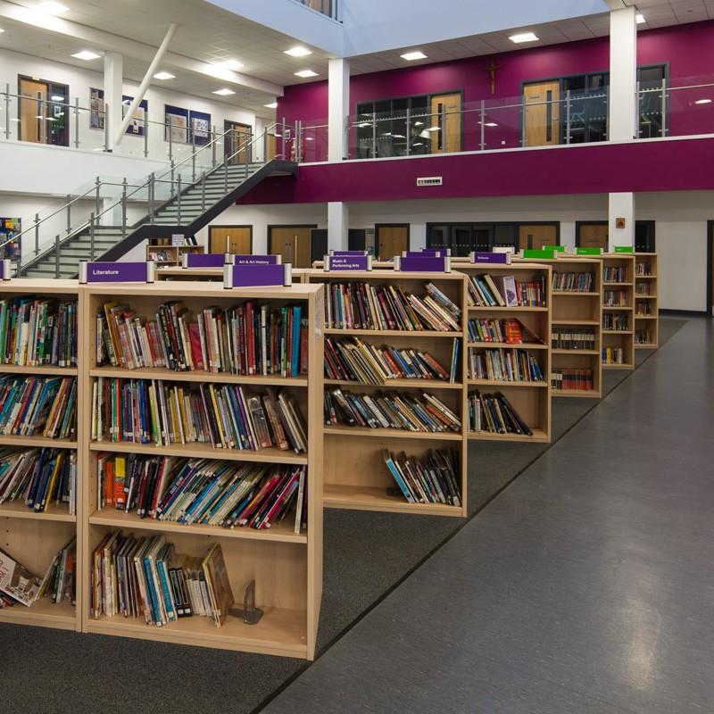 School library area
