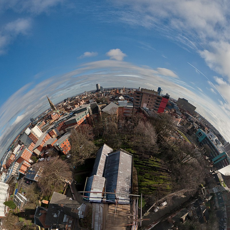 View from the top of the spire