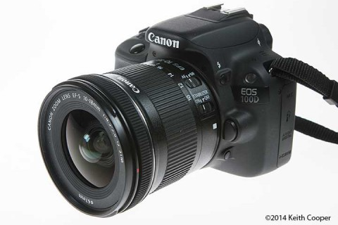 Review Canon EF-S 10-18mm zoom lens