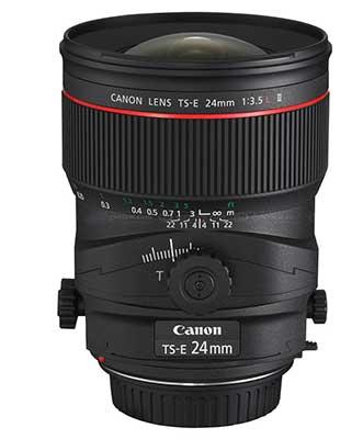 24mm TS-E lens