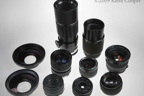 Using old lenses on a modern DSLR/mirrorless camera