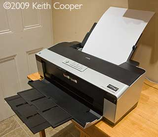 2880 printer with paper