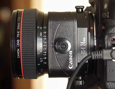 What tilt and shift lenses do