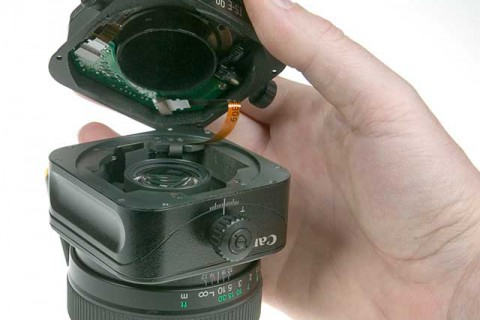 Modify Canon tilt shift lens